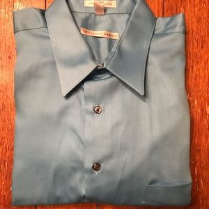 Geoffrey Beene XL Tall Button Down Dress Shirt